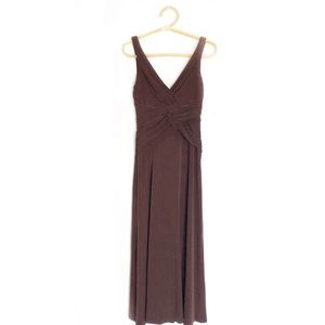 Laundry by Shelli Segal Deep V Formal Gown Dress 6